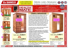 Promotion Cabine Infraouge Health mate