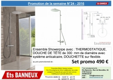 Promo semaine 24 Showerpipes TREEMME